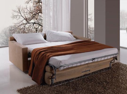 Divani letto modello begin linea emme seregno - Divano letto aperto ...