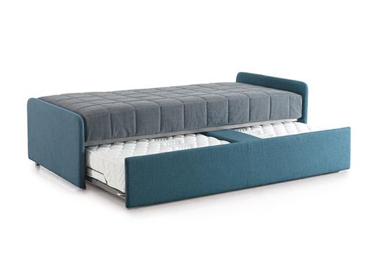 Divani letto modello per 2 linea emme seregno - Divano letto aperto ...